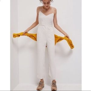 NWT Maeve jumpsuit in ivory